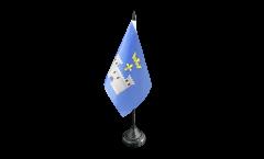 Tischflagge Frankreich Angoulême - 10 x 15 cm
