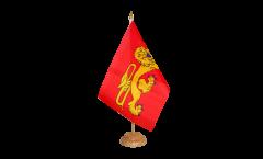 Tischflagge Frankreich Aquitaine - 15 x 22 cm