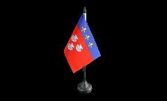 Tischflagge Frankreich Aurillac - 10 x 15 cm