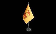 Tischflagge Frankreich Béarn - 10 x 15 cm