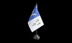 Tischflagge Frankreich Bar-le-Duc - 10 x 15 cm