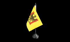 Tischflagge Frankreich Besançon - 10 x 15 cm