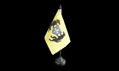 Tischflagge Frankreich Blois - 10 x 15 cm