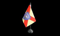 Tischflagge Frankreich Bobigny - 10 x 15 cm