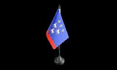 Tischflagge Frankreich Bourges - 10 x 15 cm
