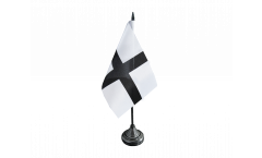 Tischflagge Frankreich Bretagne Kroaz Du - 10 x 15 cm