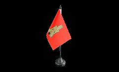 Tischflagge Frankreich Caen - 10 x 15 cm
