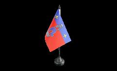 Tischflagge Frankreich Cergy - 10 x 15 cm
