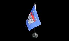 Tischflagge Frankreich Châteauroux - 10 x 15 cm