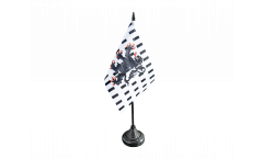 Tischflagge Frankreich Chablais - 10 x 15 cm