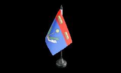 Tischflagge Frankreich Charleville-Mézières - 10 x 15 cm