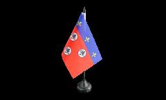 Tischflagge Frankreich Chartres - 10 x 15 cm