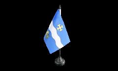 Tischflagge Frankreich Créteil - 10 x 15 cm