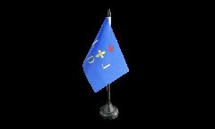 Tischflagge Frankreich Digne-les-Bains - 10 x 15 cm