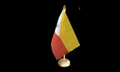 Tischflagge Frankreich Französisch Polynesien Marquesas