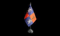 Tischflagge Frankreich Gascogne