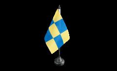 Tischflagge Frankreich Genevois - 10 x 15 cm