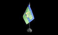 Tischflagge Frankreich Guéret - 10 x 15 cm