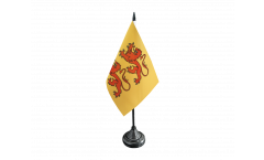 Tischflagge Frankreich Hautes-Pyrénées - 10 x 15 cm
