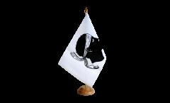 Tischflagge Frankreich Korsika - 15 x 22 cm