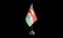 Tischflagge Frankreich La Roche-sur-Yon - 10 x 15 cm