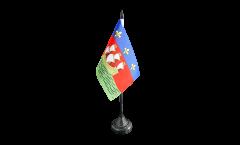 Tischflagge Frankreich La Rochelle - 10 x 15 cm