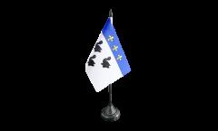 Tischflagge Frankreich Laon