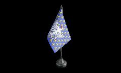 Tischflagge Frankreich Le Puy-en-Velay - 10 x 15 cm