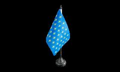 Tischflagge Frankreich Lilienwappen, blau - 10 x 15 cm