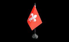 Tischflagge Frankreich Lille - 10 x 15 cm