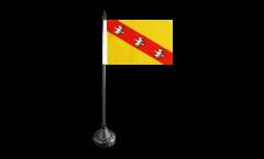 Tischflagge Frankreich Lothringen - 15 x 22 cm