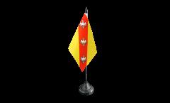 Tischflagge Frankreich Lothringen 2