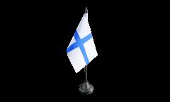 Tischflagge Frankreich Marseille - 10 x 15 cm