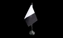 Tischflagge Frankreich Metz