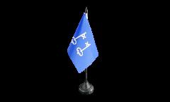 Tischflagge Frankreich Mont-de-Marsan - 10 x 15 cm