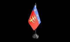 Tischflagge Frankreich Montauban