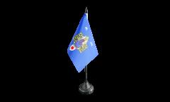 Tischflagge Frankreich Montpellier - 10 x 15 cm