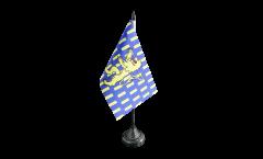 Tischflagge Frankreich Nevers - 10 x 15 cm