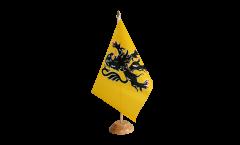 Tischflagge Frankreich Nord Pas de Calais - 15 x 22 cm