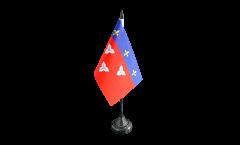 Tischflagge Frankreich Orléans - 10 x 15 cm