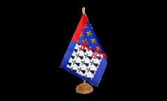 Tischflagge Frankreich Pays de la Loire - 15 x 22 cm
