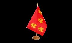 Tischflagge Frankreich Poitou Charentes - 15 x 22 cm
