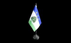 Tischflagge Frankreich Privas - 10 x 15 cm