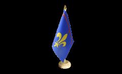 Tischflagge Frankreich Provence