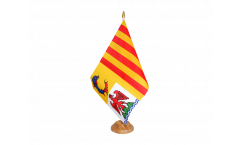 Tischflagge Frankreich Provence Alpes Côte d'Azur - 15 x 22 cm
