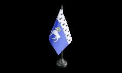 Tischflagge Frankreich Quimper - 10 x 15 cm