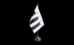Tischflagge Frankreich Rennes - 10 x 15 cm