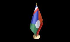 Tischflagge Frankreich Reunion 2 - 15 x 22 cm