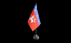 Tischflagge Frankreich Rouen - 10 x 15 cm