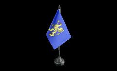 Tischflagge Frankreich Saint-Brieuc - 10 x 15 cm